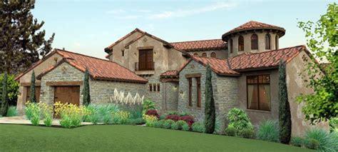 italian mediterranean tuscan house plan
