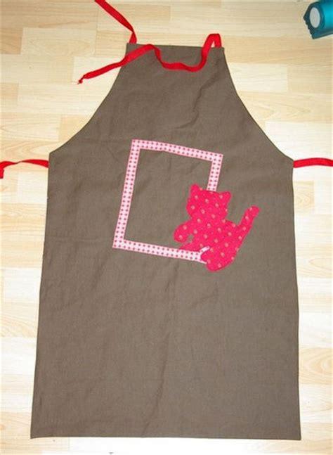 patron tablier de cuisine gratuit tablier réversible en tissu patron couture gratuit