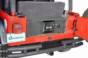 Quadratec Custom Rear Dual Subwoofer Kit With 10 U0026quot  Kicker