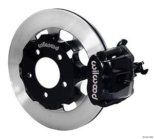 Wilwood Disc Brakes  Rear Brake Kit Part No 14011979