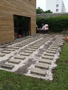 Lame Terrasse Classe 4 : cr ation d 39 une terrasse en pin autoclave classe 4 vert ~ Farleysfitness.com Idées de Décoration