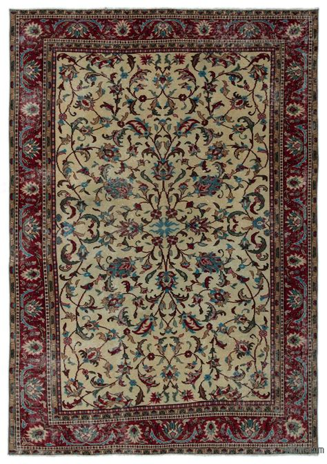Turkish Rug by Carpets Kilim Rugs Overdyed Vintage Rugs Made