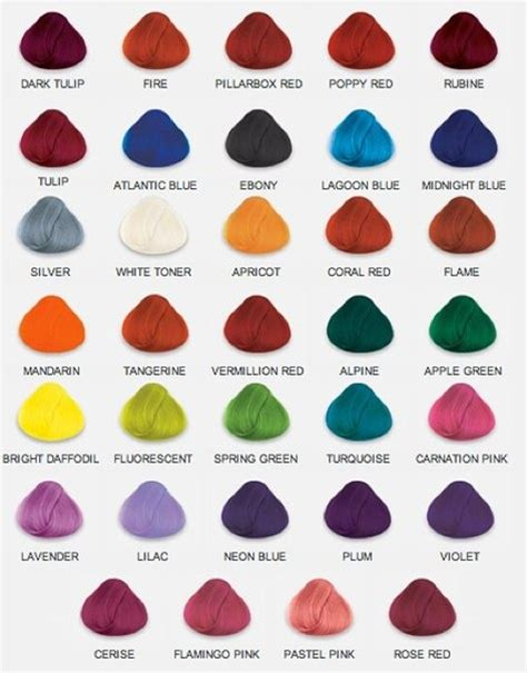 Shades Of Hair Color Names by Color Shades And Names Miscellaneous Tips