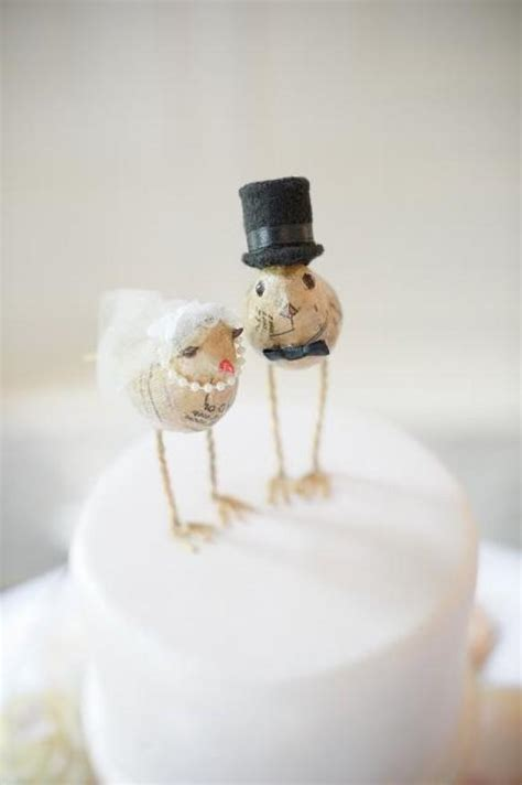 birds wedding cake topper vintage wedding wedding cake topper 806071 weddbook