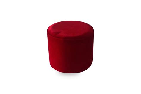 red  ottoman lux lounge efr