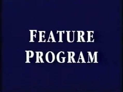 Feature Program 1997 - YouTube