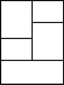 blank comic book template pages printables  junipers