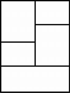 Blank Comic Book Template Pages Printables by Juniper's ...