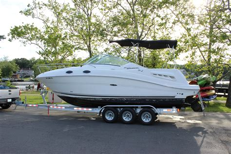 Boat T Top Weight by 2006 Sea 260 Sundancer Power Boat For Sale Www