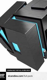 3D Cube Render 2 by DesignerCandies.net PSD PSD Free Download