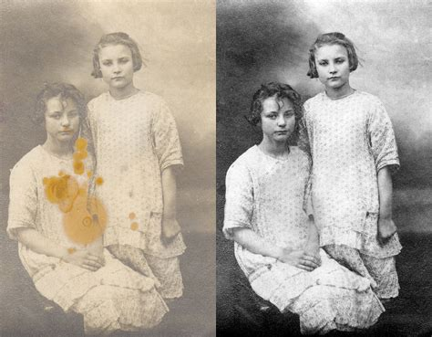 Old Damaged Photo Restorations