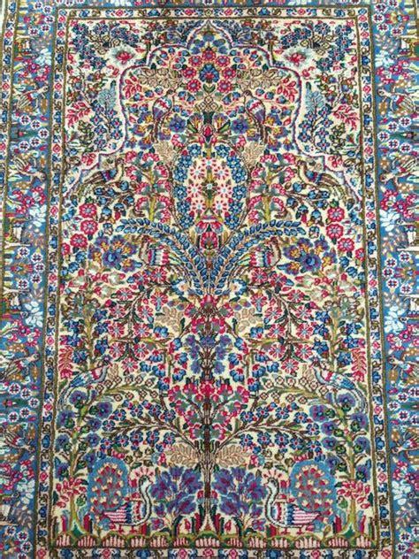 kirman tapijt perzisch kirman tapijt 20e eeuw