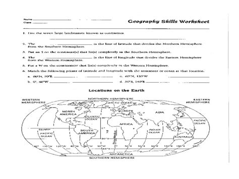 worksheet continents worksheets grass fedjp worksheet