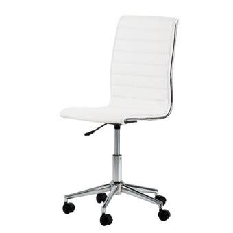 chaise de bureau blanche chaise de bureau blanche