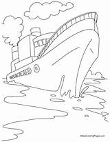 Coloring Ship Cruise Boat Drawing Speed Ships Disney Cargo Container Titanic Sheets Printable Bestcoloringpages Worksheets Preschool Fishing Shipwreck Drawings Para sketch template