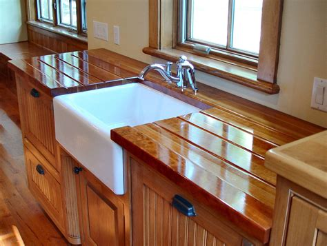 sink cutouts  custom wood countertops