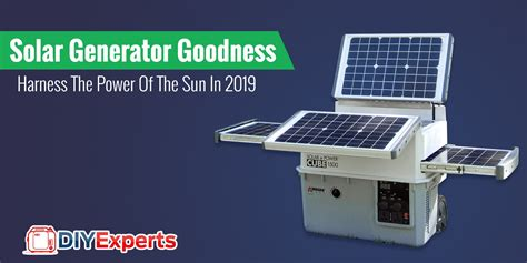 The 2019 Solar Generator Champion Is...wait For It