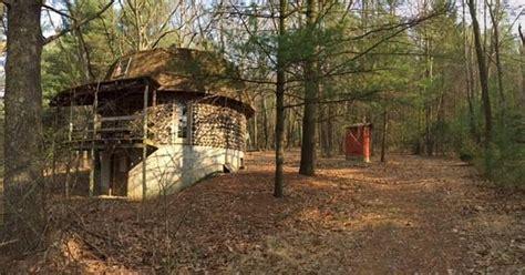 ron swanson    stone cabin