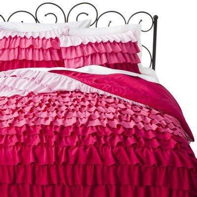 xhilaration ruffle comforter set  target epic wishlist
