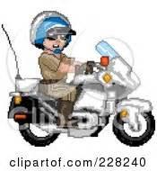 Royalty-Free (RF) Biker Cop Clipart, Illustrations, Vector ...