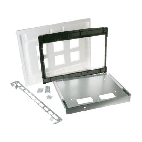 gemonogram jxshss stainless steel built  microwave  trim kit joshua bate trading