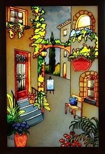 faux vitrail patrons gratuits recherche google vitrail With peindre sur toile de verre