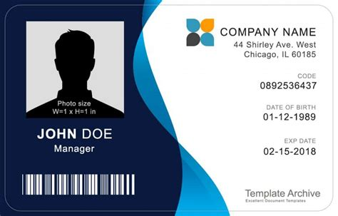 editable id card templates business letters blog