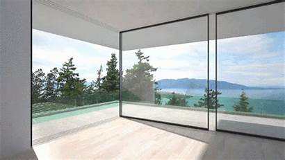 Glass Walls Slide Corners Around Disappear Archdaily