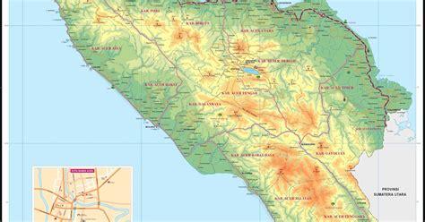 peta kota peta provinsi aceh