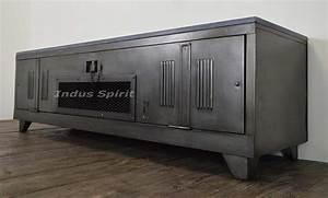 Meuble Industriel But : meuble tv industriel ~ Teatrodelosmanantiales.com Idées de Décoration