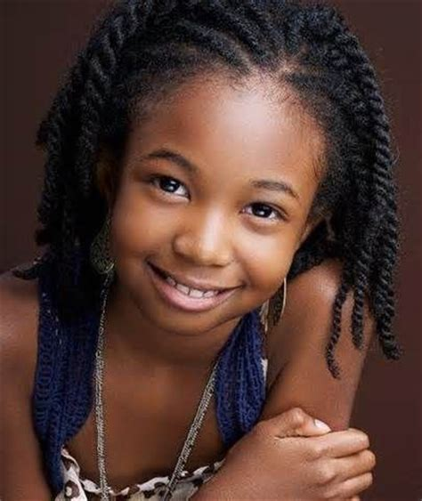 86 best hairstyles for black kids images on pinterest