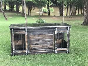 205 best single indoor dog kennels images on pinterest With dog crate buffet table