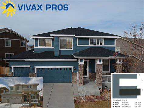 exterior paint color selection paint vivax pros