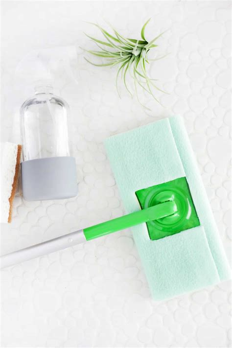 minute reusable swiffer cover diy  sew