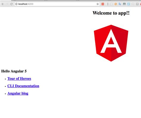 angular2 access template from ts the short introduction to angular 5 krissanawat