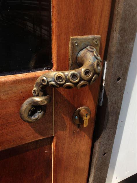 poign 233 e de porte en poulpe vintage steunk