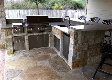pallet kitchen island 37 outdoor kitchen ideas designs picture gallery