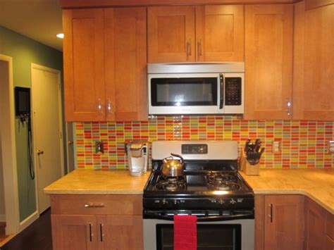 vintage kitchen tile backsplash retro mosaic backsplash modern kitchen york by