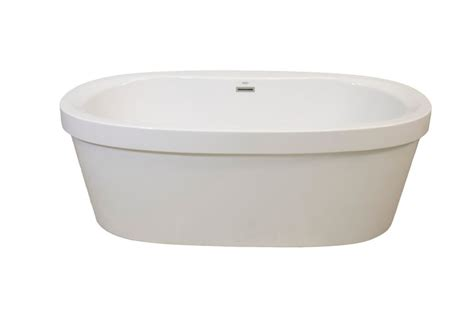 home depot standing ls mirolin brooke two piece free standing bath the home