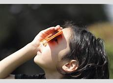 Eye Safety During Solar Eclipses