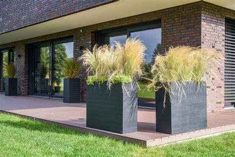 Terrasse Mit Sichtschutz by Wunderbar Pflanzk 252 Bel Rechteckig Kaufen F 252 R