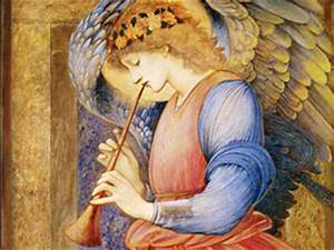 anglel_playing_trumpet angel music trumpet horn   Catholic ...