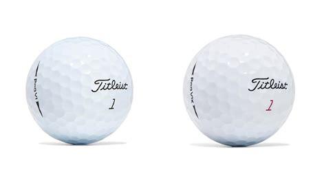 titleist pro v1 titleist pro v1 and pro v1x golf balls for 2017 look