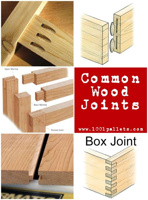 common types  wood joints     pallets