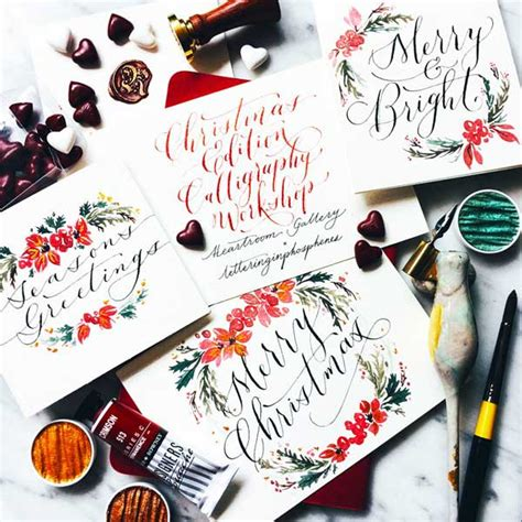 Modern Calligraphy Workshop Singapore  Learn Craft Of