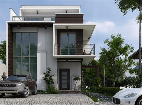 desain rumah minimalis mewah modern  lantai model terbaru
