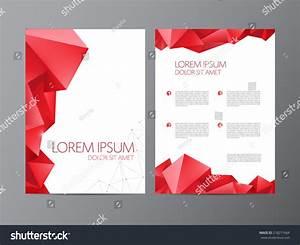 Abstract Vector Modern Flyer    Brochure Design Templates