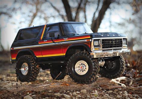 Traxxas Ford Bronco by Traxxas Trx 4 Scale Trail Ford Bronco Crawler Rtr 1 10