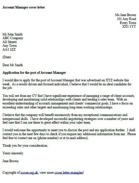 job offer acceptance letter exle icover org uk account manager cover letter exle icover org uk