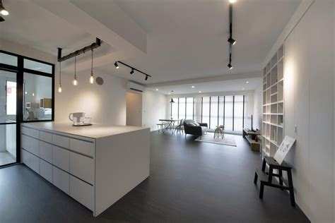 8 loft style spaces in hdb flat homes industrial theme